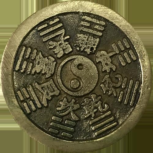 山鬼八卦花錢-太極圖(反)-web